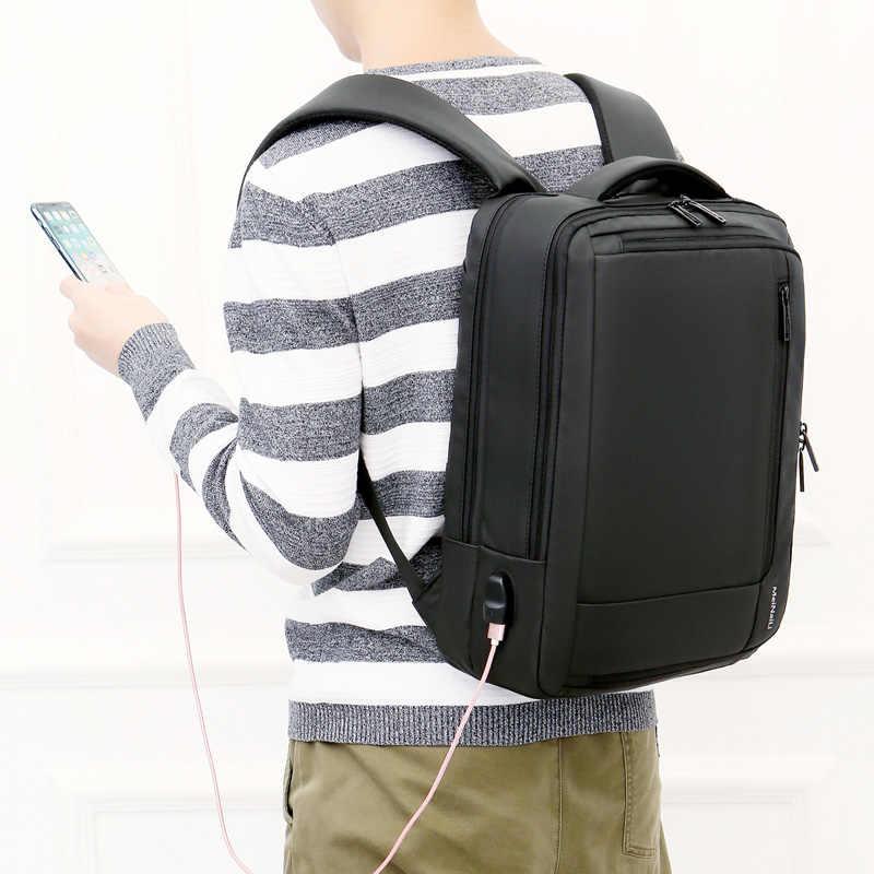 Рюкзак для ноутбука с usb-зарядкой, рюкзак для путешествий, мужской рюкзак для книг, рюкзак для школы Mochila