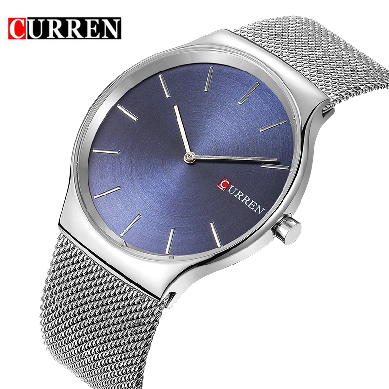 Man watch CURREN Top Luxury Brand Business Quartz Watch relogio masculino Fashion Casual Analog Sports Clock Wrist watch for Men