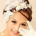 2017 новая мода бисером пояса и Перл Свадебные Украшения Волос Барретт XA10