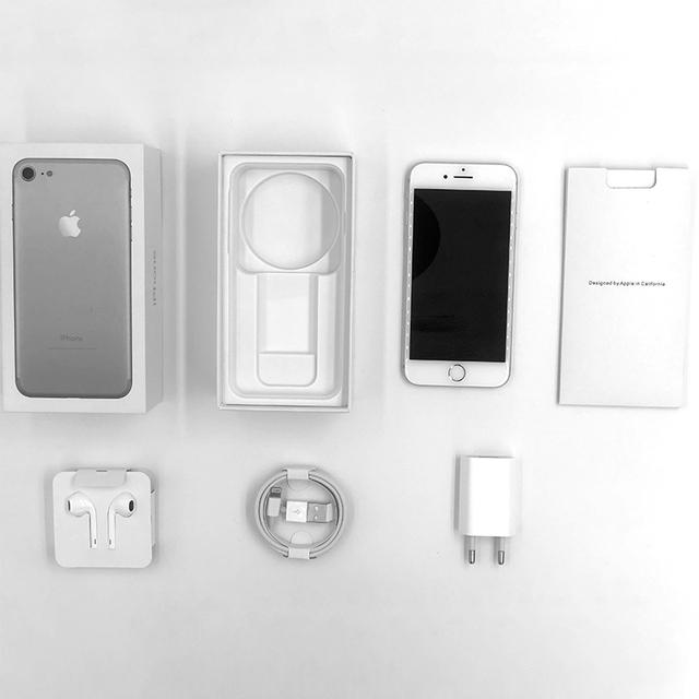Unlocked Original Apple iPhone 7 32G/128G/256G Rom Quad-core Mobile phone 12.0MP Camera IOS 1960mA Fingerprint Smart Phone Whole