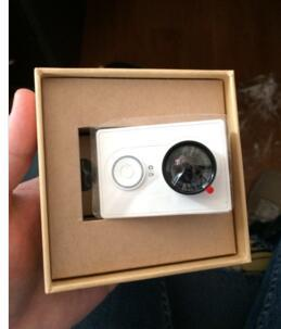 Original xiaomi yi action camera xiaoyi wifi esporte câmera 16mp 60fps wi-fi ambarella bluetooth z25l acessório de controle à prova d' água