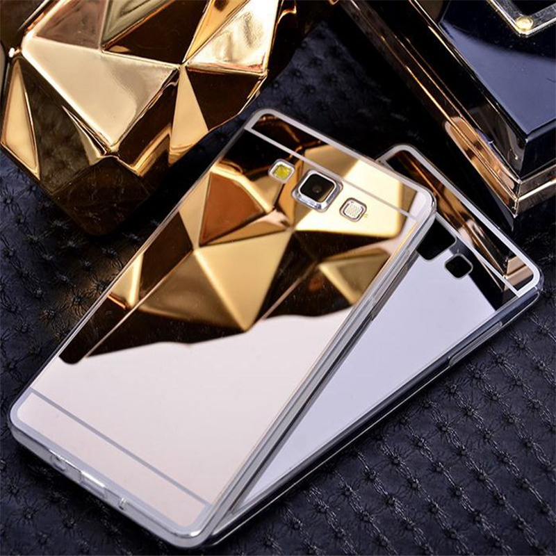 2016 New Stock Luxury Mirror Phone Case Soft TPU Back Cover For Samsung Galaxy A3 2016 2017 A310 A310F Protective Case