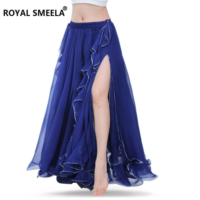 Безплатна доставка Висококачествени поли за бягане, коремска танца пола костюм тренировъчна рокля или изпълнение -6001