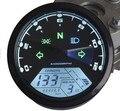 Универсальный 12000RMP жк-цифровой спидометр пробег тахометр мотоциклов мотоцикл 1 - 4 цилиндров