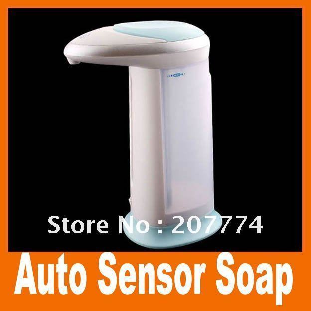 Free Shipping,Hot sell ! Automatic Sensor Soap Cream Dispenser Auto Touchless, 5pcs/lot,  Wholesale