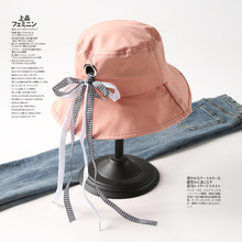 Embroidery Letter Bucket Hat For Women Fishing Sports Hip Hop Cap Summer Soft Sun Panama Men Cotton Hats