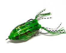 HENGJIA 20pcs Frog Lure 5.5CM/13.5G Topwater pesca fishing artificial Lure Soft baits iscas artificiais lure
