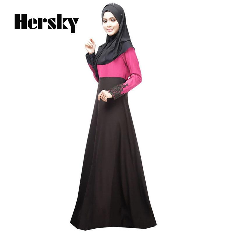 6e8138572386c Muslim dress Abaya Turkish women clothing islamic abaya jilbab musulmane  vestidos longos hijab clothing dubai kaftan longo Black