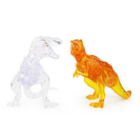 New Arrival 3D Dinosaur Crystal Puzzle Animal Assembled Model DIY Educational Toys Kid S Gift Home