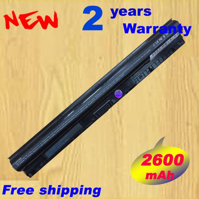 Batería para dell inspiron 3451 m5y1k 3458 3551 3558 5551 5555 5558 k185w wkrj2 gxvj3 hd4j0 baterías originales 14.8 v 40wh