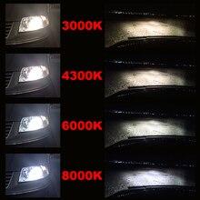 2 шт.Автомобильные наборы ламп фар мини размер H7 светодиодный H4 HB3 H11 H1 9005 автомобилей налобный фонарь H3 4300 К 6000 К 50 Вт 10000LM 24v лампа для авто светодиодные фары туман лампа автомобилей налобный