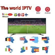 Air IPTV Subscription M3U for 4K android iptv Brazil French Spain Portugal Italia Arabic Dutch M3u tv box enigma2