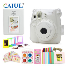 CAIUL Camera Accessories for Fujifilm Instax Mini8/8+ Crystal shell Colour Close-up Lens Filter Photo Album Film Frame Stickers