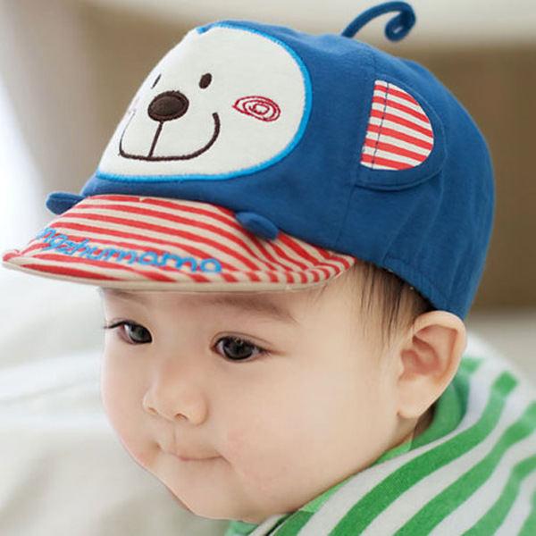 49017106e84a8 2014 new cartoon monkey infants young child baby baseball cap gorro bone  chapeu touca bones aba reta caps imported hats H439