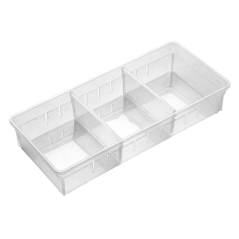 調整可能な引き出しボックス下見板引き出しデバイダストレージオーガナイザー分離ボックス自宅保管棚メイク食器収納ボックス