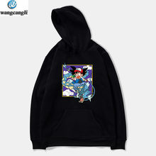 Dragon Ball Z Goku Anime Hoodie Sweatshirt Frauen/Männer Pullover Pokemon Hoodies Sweatshirts Winter Oversize Jacke Mantel kleidung(China)