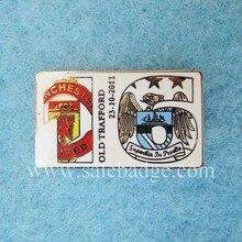 Сделай штампованный твердый Эмаль золотое покрытие дизайн логотип булавки значок сувенир на заказ