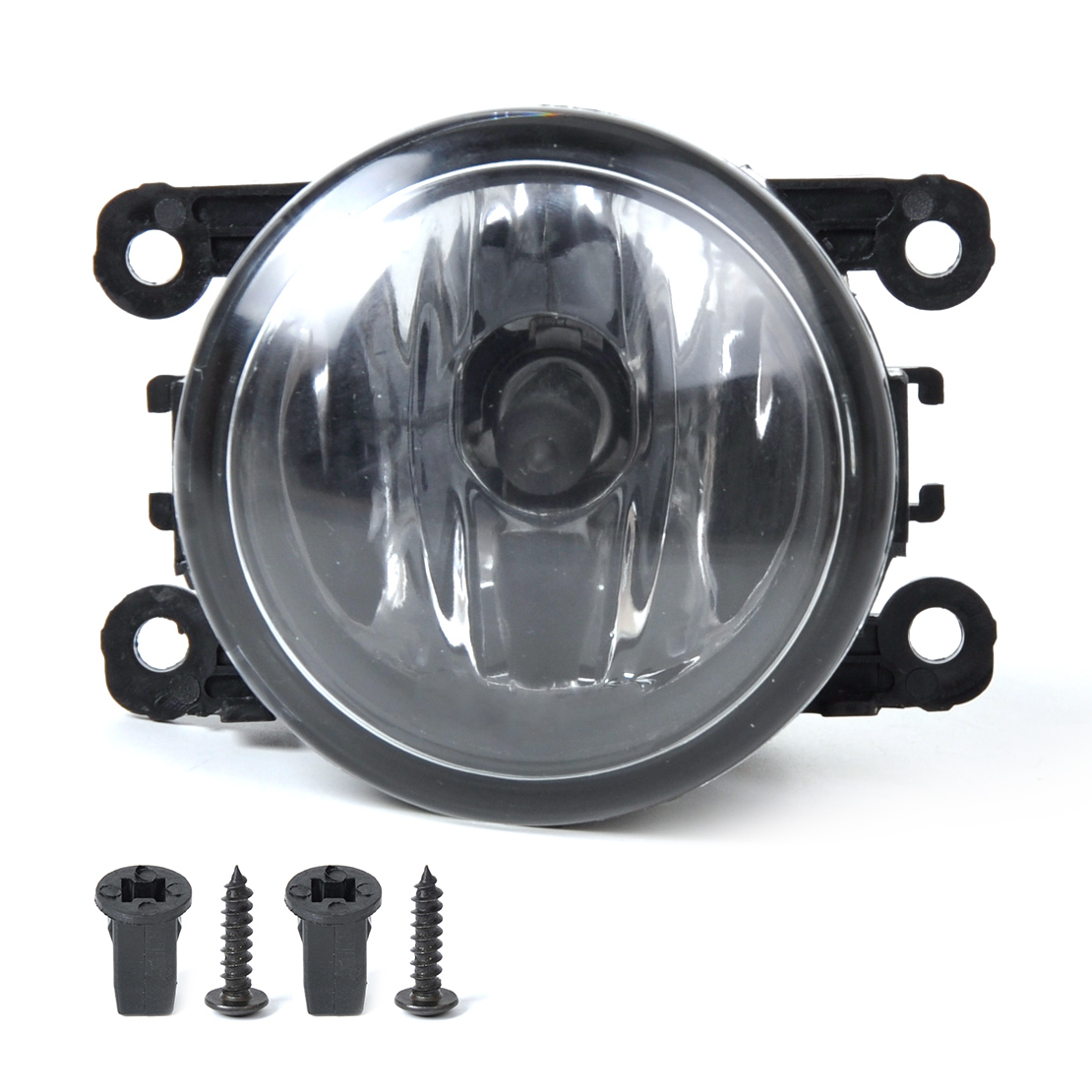 DWCX 4F9Z-15200-AA 1pc Right / Left Fog Light Lamp + H11 Bulbs 55W For Acura Honda Ford Lincoln Jaguar Subaru Nissan Suzuki beler fog light lamp h11 female adapter wiring harness sockets wire connector for ford focus fiesta acura nissan honda subaru