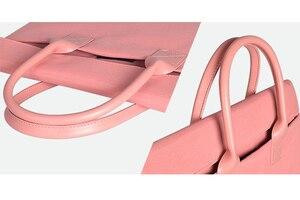 Image 3 - حقيبة لابتوب النايلون للماء محمول حالة كمبيوتر محمول للأعمال كم للنساء 13.3 14.1 15.6 بوصة ل ماك بوك برو حالة الرجال