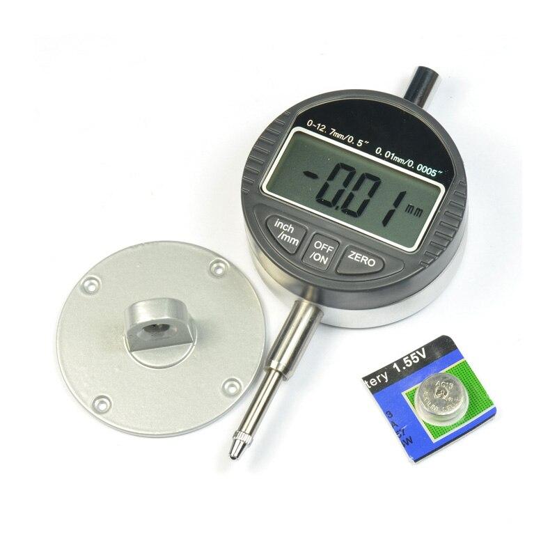 Electronic Micrometer 0.0005 Digital Indicator Gauge Range 0-12.7mm/ 0.5  0.01mm/ 0.0005 0 001mm 00005 digital indicator range 0 25 4mm 1 gauge