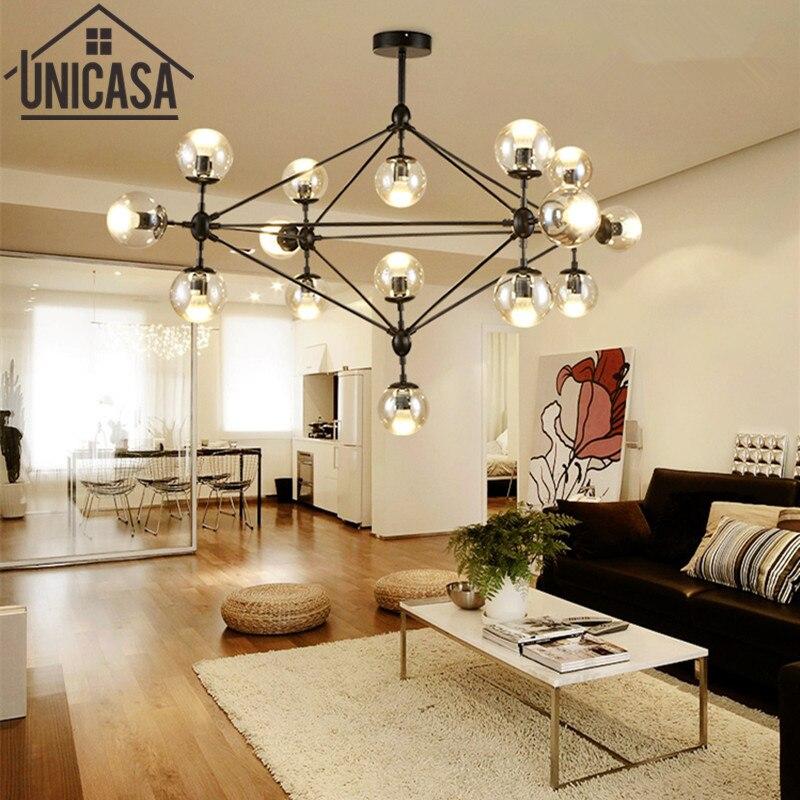 large pendant light Bar vintage lighting kitchen kit room modern office ceiling Lamp Glass Lamp shade led Elegan pendant lights