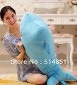 70 cm creativo de peluche de juguete de delfines, suave almohada almohada del niño, niñas regalo de cumpleaños envío gratis