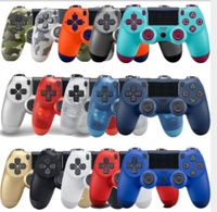 8 Colors Bluetooth Controller For PS4 Gamepad For Play Station 4 Joystick Wireless Console For PS3 Dualshock Controle / 20pcs