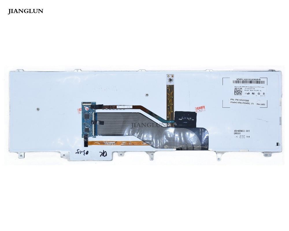 Dell 564JN Latitude E6520 E6530 E6540 M4600 M4700 M4800 M6600 M6700 M6800 Black Laptop Backlit Keyboard