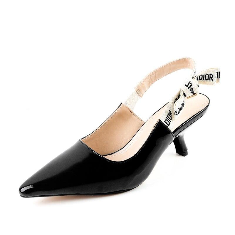 Us19 Englisch Großhandel Bankett Mit High Leck Schuhe In Spitzen Marke Buchstaben 2017 Straps Heels 9berühmte Ballett Fein dBWCxeor