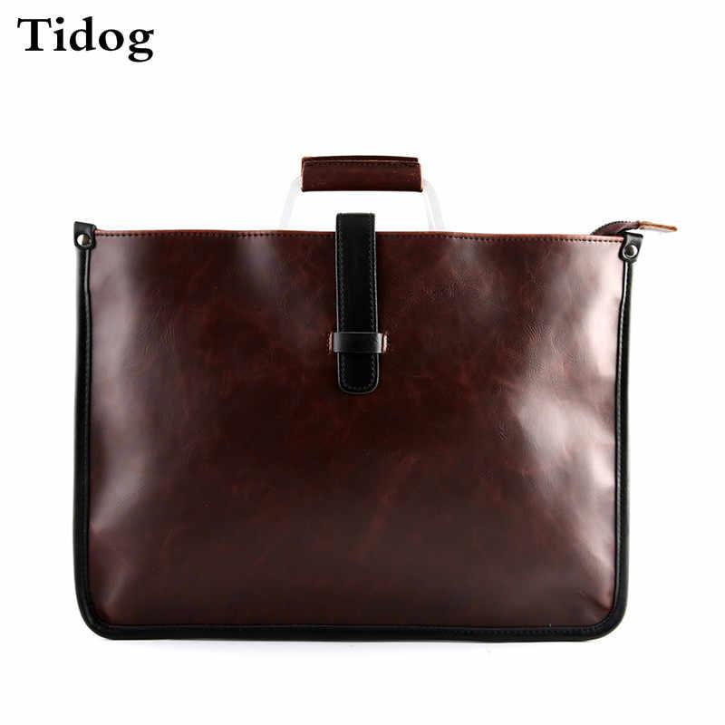 Tidog Coreano saco masculino saco Dos Homens Do Vintage Das Senhoras Da Bolsa maleta