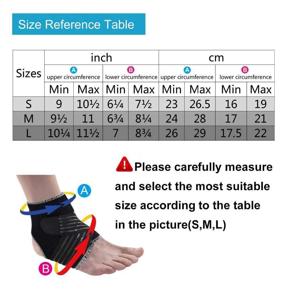 Dr. Qiiwi Sport Sicherheit Ankle Support Pad Schutz Compression Ankle Brace Elastische Bandage Wache Fuß Straps Wrap Schutz