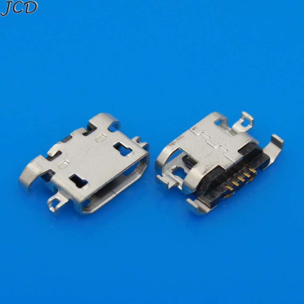 20pcs Micro USB 5pin B Type Female Connector Jack Charging Socket GX