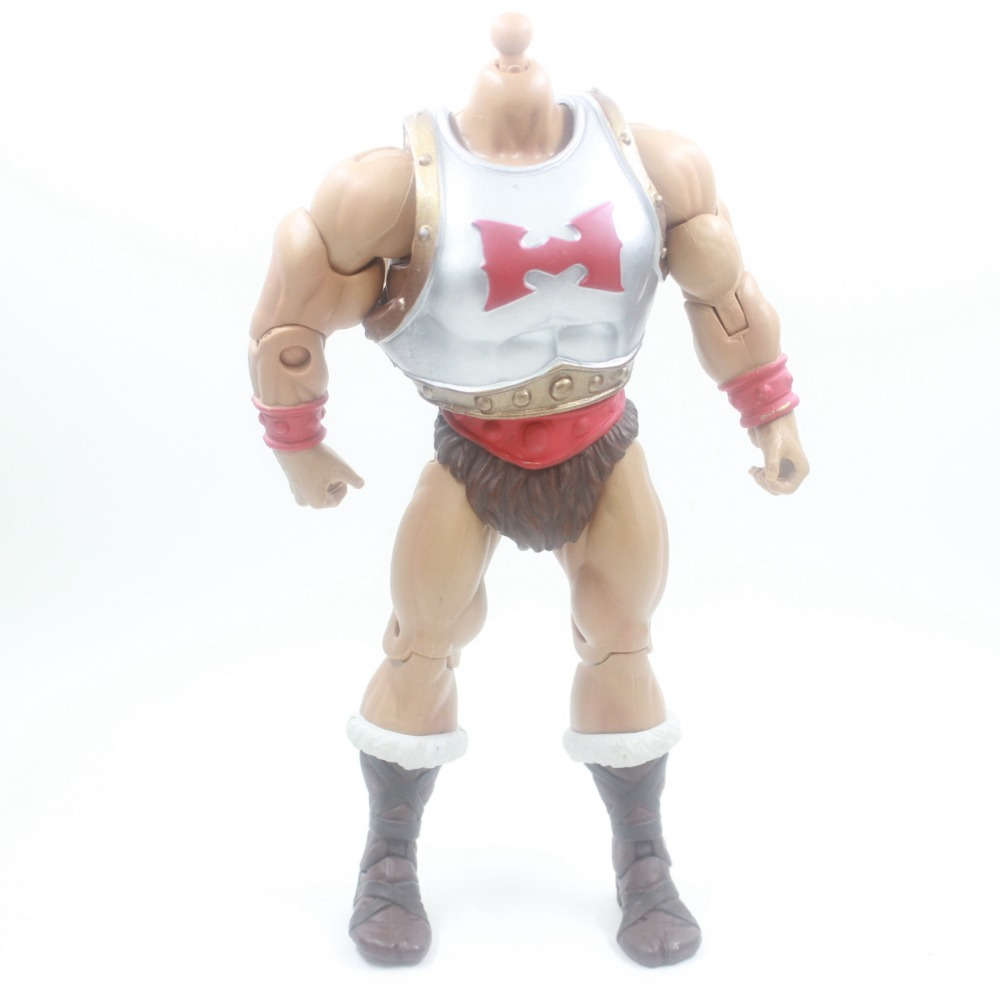MASTER OF THE UNIVERSE CLASSICS Flying Fists He-Man Action Figure Without Head simon louvish the man on the flying trapeze – the life