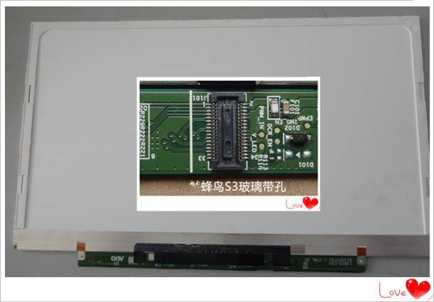 B133XTF01 without 2 Holes for Acer S3-951 S3-391 S3-2464G Laptop LCD screen B133XW03 V3 B133XTF01.0 B133XTF01.1 B133XTF01.2 цена