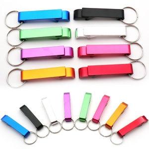 Image 1 - En gros 100 pièces personnalisé gravure texte Logo décapsuleur chien Tag porte clés porte clés personnalisé cadeau de mariage