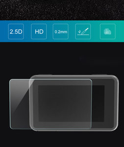 Image 5 - 3PCS/Set Protective Film for Dji Osmo Action Tempered Glass Front Back Screen Lens Protective Film for osmo Action Accessories