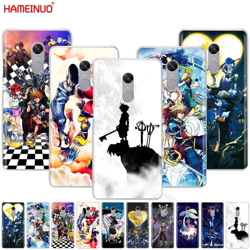 HAMEINUO Anime Kingdom Hearts Style Cover phone  Case for Xiaomi redmi 5 4 1 1s 2 3 3s pro PLUS redmi note 4 4X 4A 5A