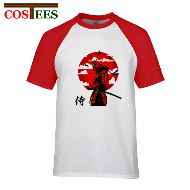 8f866f0c92959 Japan style Original artistic design samurai T shirt katana pop culture warrior  T-shirt homme harajuku knight tee shirt camiseta