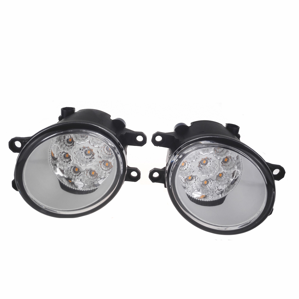 For LEXUS RX GYL1 GGL15 AGL10 450h AWD 350 AWD 2008-2013 Car-Styling Led Fog Light-Emitting Diodes DRL Fog Lamps 1set for lexus rx gyl1 ggl15 agl10 450h awd 350 awd 2008 2013 car styling led fog lights high brightness fog lamps 1set
