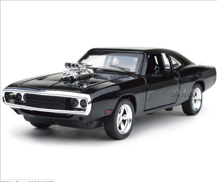 NEW 1:32 The Fast And The FuriousDodge Charger Alloy Car Models kids toys for children Metal Classical Cars