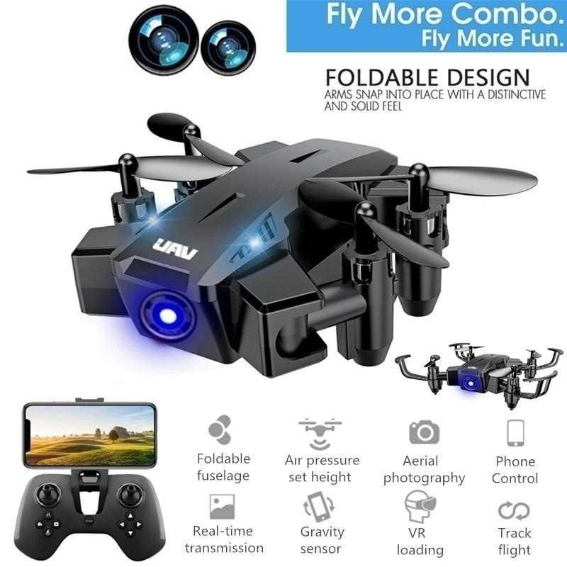 Mini Drone Met 480 P/720 P Hd Camera Fpv Rc Quadcopter Hoogte Hold 2.4G 6-As opvouwbare Rc Drone Helicopter Rtf