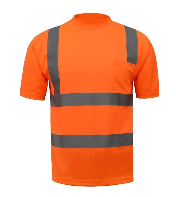 Reflective T-shirt Cycling traffic safety warning reflective clothing