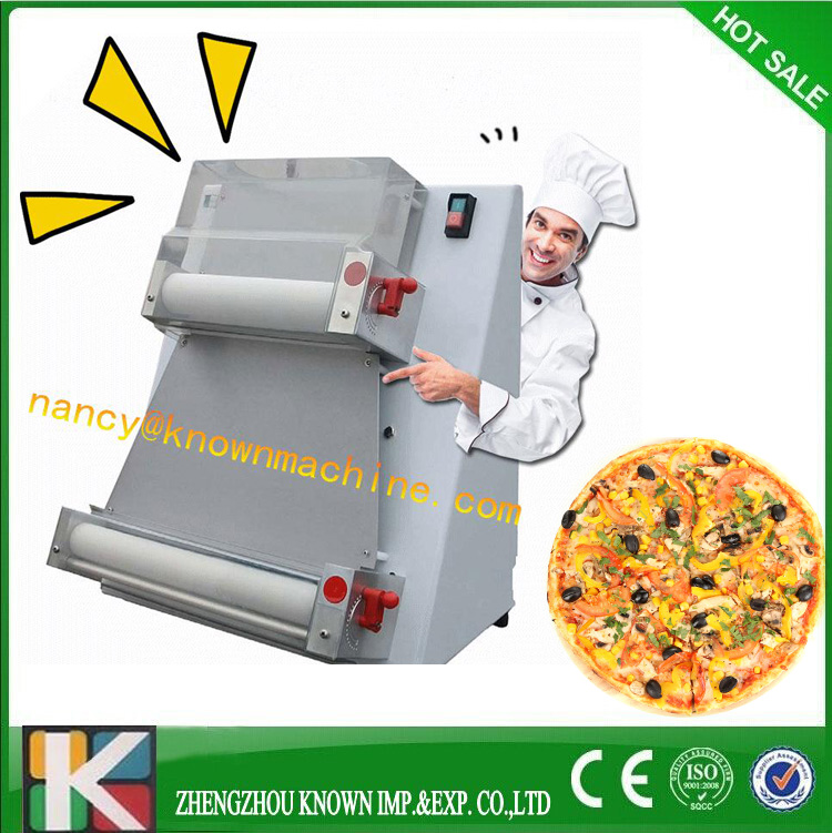 table top Top quality hot sale pizza dough press machine/dough sheeter for home use