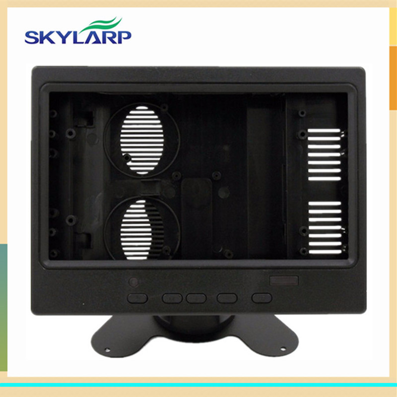 skylarpu Plastic case for 7 inch for AT070TN90 for HDMI+VGA+2AV driver board (without touch) skylarpu 7 inch high resolution ips 39pins screen multifunctional driver board with av2 hdmi vga for raspberry pi without touch