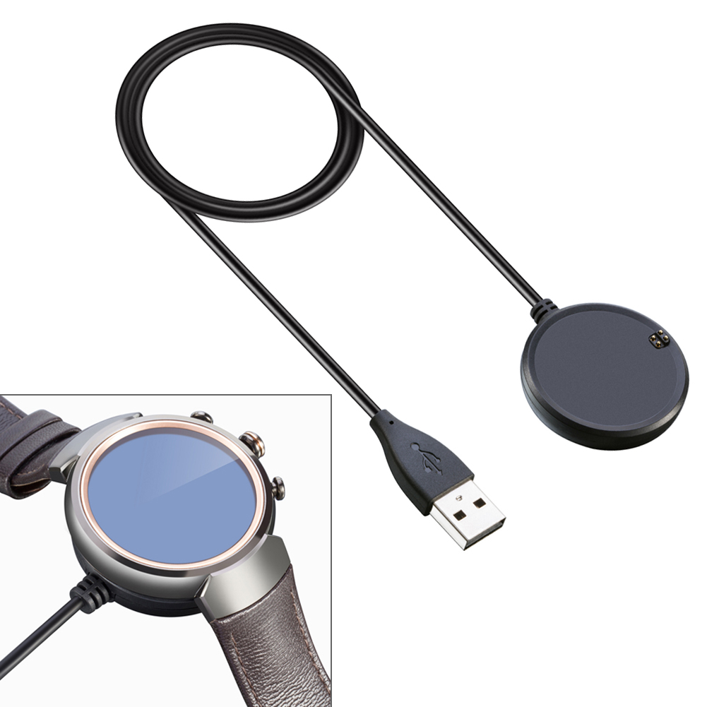 Hot-sale Smartwatch Accessory Qi Wireless Charger Charging Dock Pad + USB Cable For ASUS Zenwatch 3