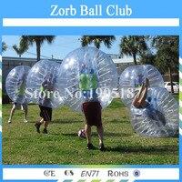 Бесплатная доставка 1.5 м ПВХ воздушный шарик бампера Средства ухода за кожей zorb bubblefootball, bumperball