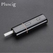 Pluscig B3 heat no burn heating tobacco stick Kit 1300mAh TC heat vape box up to 20 constinous stick cartridges VS Pluscig V10