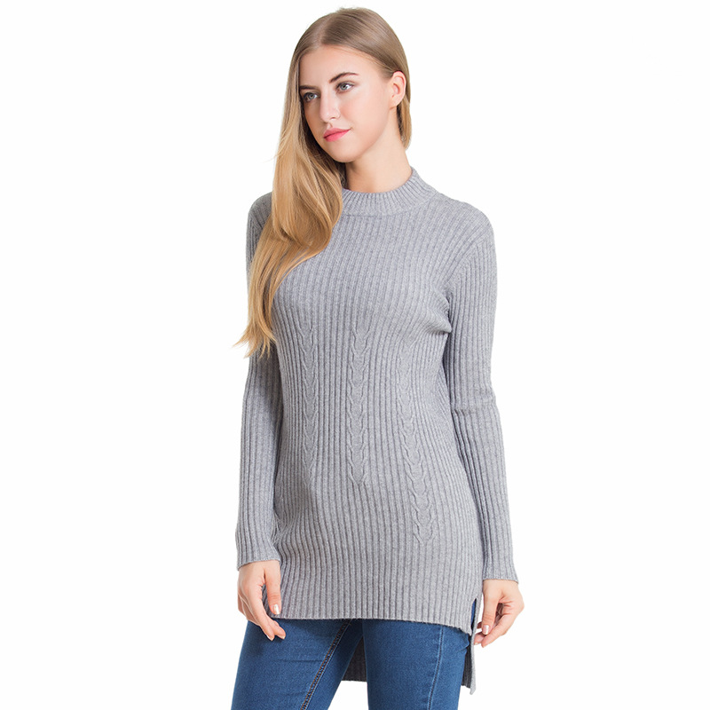 Sweater Women 2017 Turtleneck Autumn Winter Christmas Knitted Sweaters Top Oversized Fall Fashion Womens Pullovers Female Cape