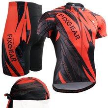 2017 Велоспорт куб наборы 2016 черный и красный Велоспорт устанавливает велосипед одежда полный печать дизайн прохладный езда износ