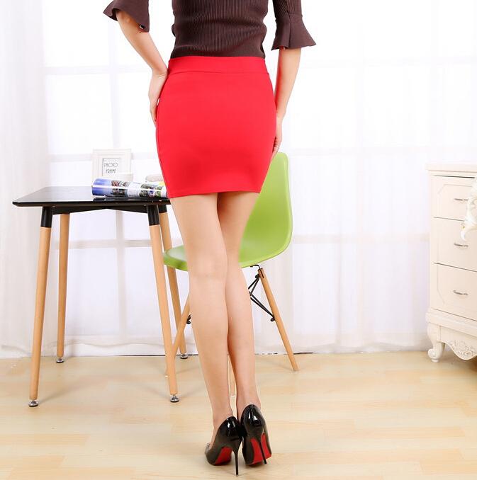 Skirts Mini 2017 High Quality Stretch Jinmian Bubble Short Term Professional Pocket With Zipper Step Womens Free Shipping skirt 5